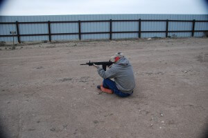 Donny shooting Ruger SR-762