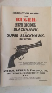 Ruger Misprint Blackhawk in rare 41 magnum caliber