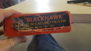 Ruger BlackHawk Misprint and Wrongly built Factory Mistake.